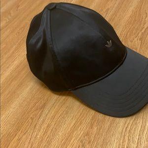 Women's satin adidas hat